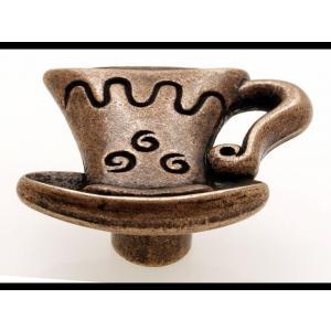 1058-40 CSÉSZE GOMB antik réz fém