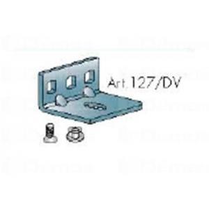 Beltéri ajtóvasalat felsővezetésű sín rögzítő konzol DT336 Terno bútoripari kellék magas minőségben (1db)