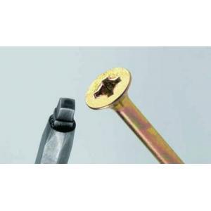 Csavar Uniquadr. 3, 5x30 sárga cink 2/3men.