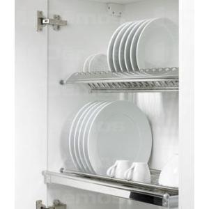 Csepegtető rács tányértartó 600mm króm 106099 Terno Hettich konyha vasalat (1db)