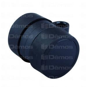 Görgő 37mm fekete gumis (talp nélküll) 11256 Demos bútor, asztal, fotel, ágy alkatrész (1db)