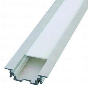 LED alu profíl GROOVE bemaráshoz 1m eloxált alumínium 130633 Tulip profi elektromos szerelvény, alkatrész (1db)