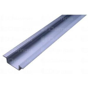 LED alu profíl SAL bemaráshoz 2m eloxált alumínium 182990 Tulip profi elektromos szerelvény, alkatrész (1db)