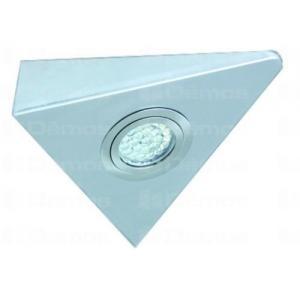 LED lámpa IVORY 1,7W/n12V / hideg fehér / nemesacél 157094 Tulip profi elektromos szerelvény, alkatrész (1db)