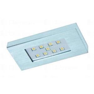 LED lámpa SPARKLING 1S II 2,5W/n12V / meleg fehér / alumínium 157049 Tulip profi elektromos szerelvény, alkatrész (1db)