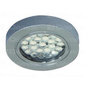 LED spotlámpa AKIS S 1,7W/n12V / hideg fehér / króm 157038 Tulip profi elektromos szerelvény, alkatrész (1db)