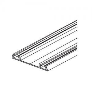 Sevroll alsó sín dupla 3m ezüst 89124 Sevroll kiemelt gyártási minőségű szerelvény (1db)