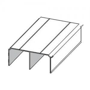 Sevroll felső sín dupla 1,7m ezüst 89106 Sevroll kiemelt gyártási minőségű szerelvény (1db)