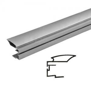 Sevroll fogantyú profil ALFA II 2,7m ezüst befűző kefés 222788 Sevroll kiemelt gyártási minőségű szerelvény (1db)
