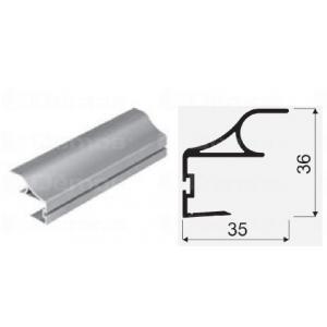 Sevroll fogantyú profil COMFORT 18mm-es 2,7m ezüst 135555 Sevroll kiemelt gyártási minőségű szerelvény (1db)
