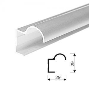 Sevroll fogantyú profil FOCUS 18mm-es 2,7m oliva 89102 Sevroll kiemelt gyártási minőségű szerelvény (1db)