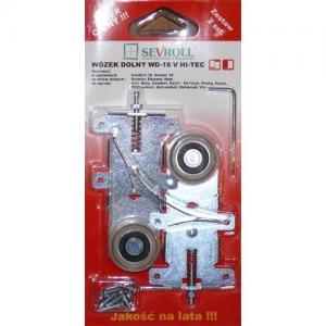 Sevroll görgő szett ELEGANT alsó (2db alsó+1db stopper) 229436 Sevroll kiemelt gyártási minőségű szerelvény (1db)