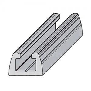 Sevroll Smart alsó-felső sín 2,35m ezüst 84195 Sevroll kiemelt gyártási minőségű szerelvény (1db)