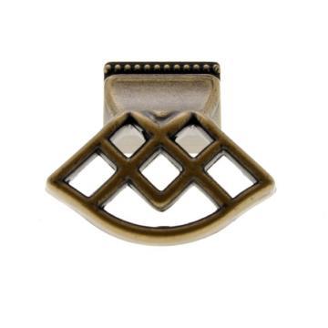 515-000 40x44 antikolt bronz fém