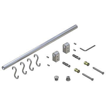 827-0900C-SC RÚD 900 mm króm fém