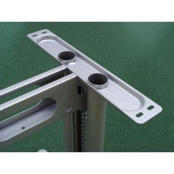 ÁTKÖTÖELEM KÁBELCSAT. 1400mm RAL9006 aluminium aluminium fém
