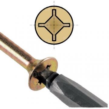 Csavar Uniquadrex 4x40 sárga 92881 Demos magas minőségű összekötő elem (1000db)