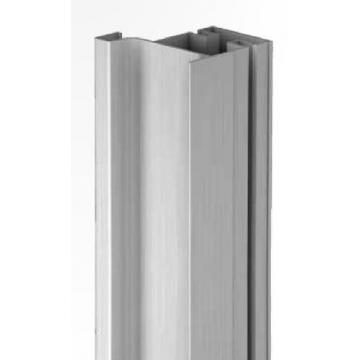 Gola-profil függőleges szélső 4, 5m fehér