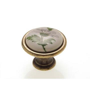 P08.01.20.04 ÁTM:29 ant.bronz-zöld porcelán