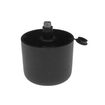 SZINTEZÖLÁB 43107 44mm fekete müanyag